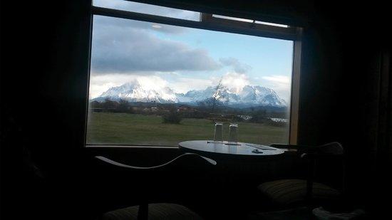 Hotel del Paine: Vista do quarto