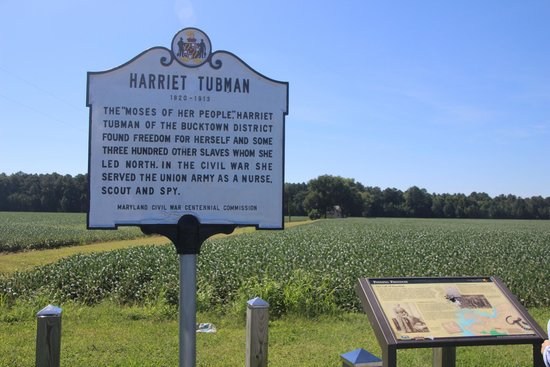 Harriet Tubman Birthplace Marker