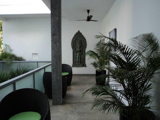 Rambutan Resort - Phnom Penh : Beautiful hallway