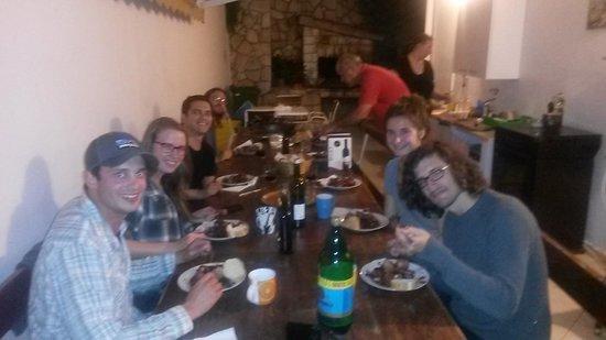 Luka's Lodge : Octopus dinner