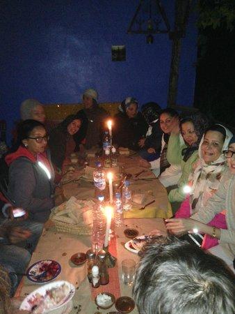 Gite Azilane: dîner