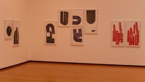 Aberdeen Art Gallery: Room 1 Clair Barclay