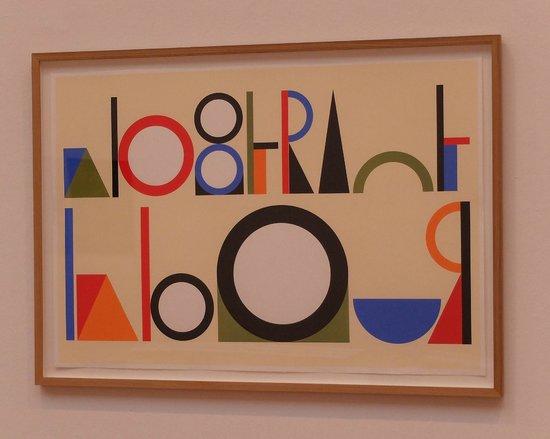 Aberdeen Art Gallery: Room 2 Emily Floyd