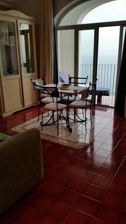 Soggiorno - Picture of Amalfi Residence, Conca dei Marini - TripAdvisor
