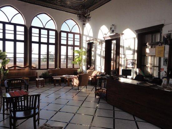 The Fauzi Azar Inn : reception area