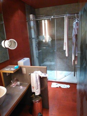 Petit Palace Museum Hotel : Il bagno di una doppia