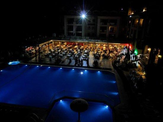 Club Alize: View from balcony
