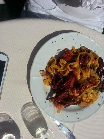 Ristorante l'Oso: Crayfish with pasta