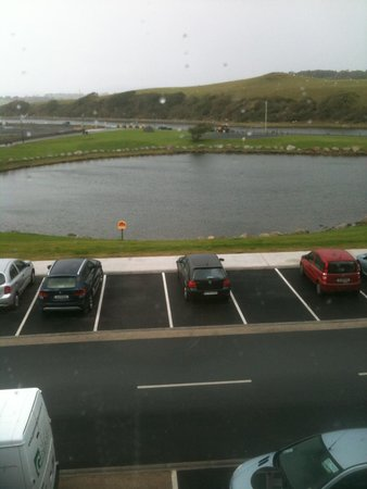 Westport Coast Hotel: View from bedroom