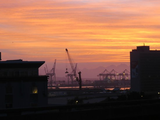 Harbouredge Apartments: Sunrise over the harbour