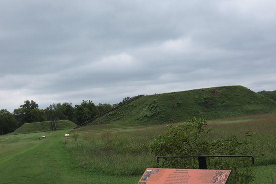 Etowah Indian Mounds State Park : One of the mounds...