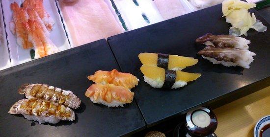 Sushizanmai Ueno : Freschissimo sushi..