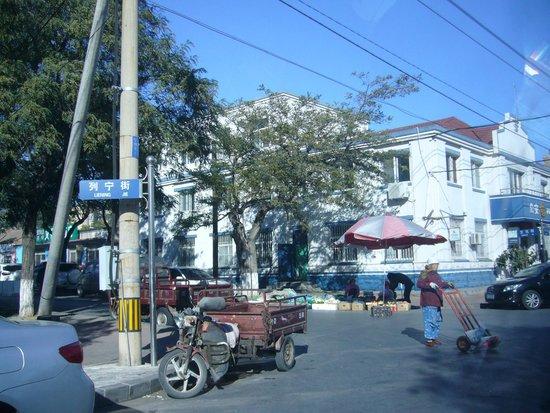 Lvshun Kou Area: のんびりとした雰囲気