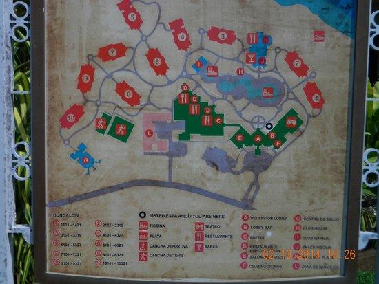 Memories Flamenco Beach Resort Map Resort Map   Picture of Memories Flamenco Beach Resort, Cayo Coco  Memories Flamenco Beach Resort Map
