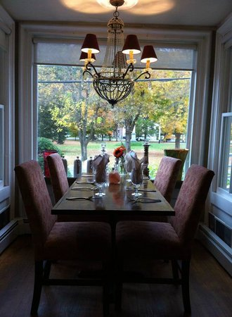 Huntington House Inn: The dining area