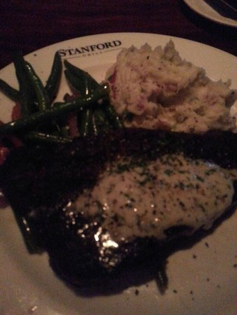Stanford Grill: NY Strip