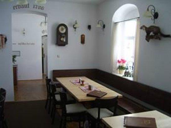 Breitenbrunn, Alemania: Gaststube für bis zu 30 Personen