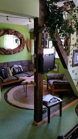 Hochkopfhaus zum Auerhahn: Baumzimmer