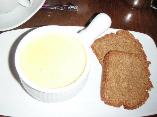 Cloister Restaurant: Parsnip soup
