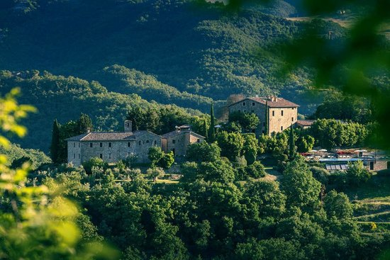 Locanda del Gallo: Beautiful Umbrian landscape