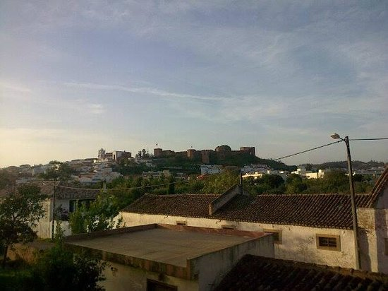 Colina dos Mouros: view from the balcony