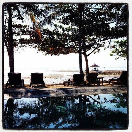 The Bali Khama Beach Resort & Spa: Pool and beach
