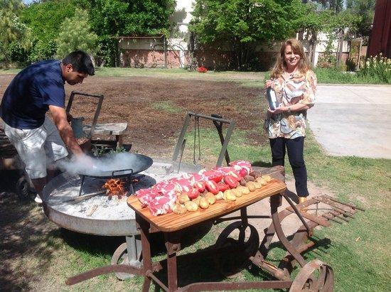 Mendoza Andes: bifes al disco en Finca Pullmary