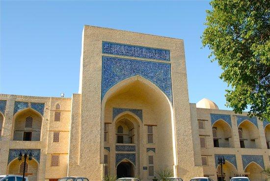 Kukeltash Madrasah: L'ingresso