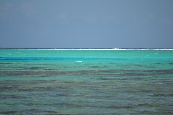 Fare Aute : vue de la plage