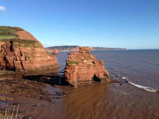 Bay View Guest House: Ladrum Bay near Sidmouth