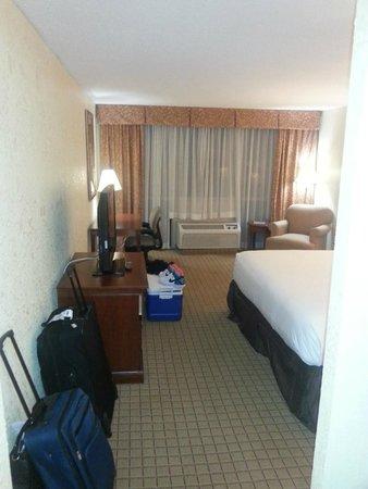 Ramada Plaza Atlanta Downtown Capitol Park: Pretty clean room