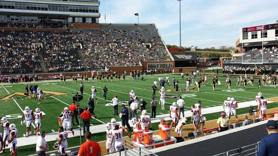 BB&T Field: Wake Forest vs. Syracuse October 18, 2014.  This was taken from section 15 row K, West.