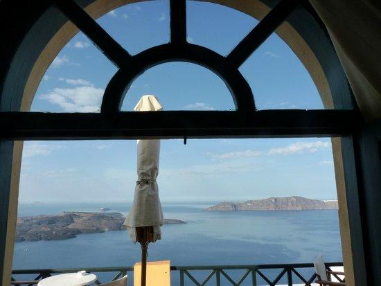 Villa Remvi: vue de la chambre