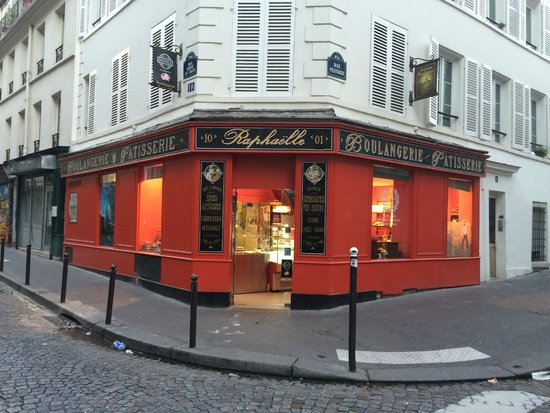 Paris-Oasis: Fresh bakery from the boulangerie just outside the main door.