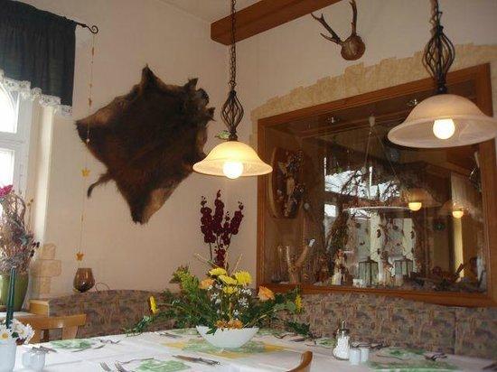 Lengefeld, Tyskland: Jagdzimmer