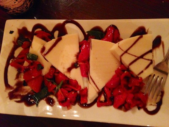 Trattoria 903: The Aged Provolone with Roasted Red Peppers & Balsamic