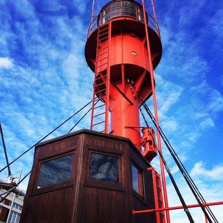 Musée portuaire : Bateau-feu