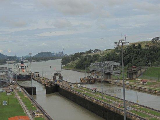 apertura de esclusas Foto di Il Canale di Panama Panamá 619dd9997d96
