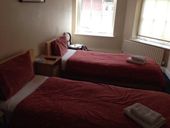 Chelsea Guest House: Zweibettzimmer
