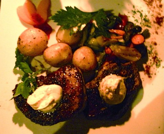 "Okapuka Ranch: the juicy, delicious "" Oryx Steak """