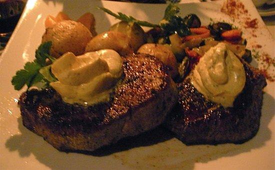 """Okapuka Ranch: a juicy , delicious """" Oryx Steak...."""