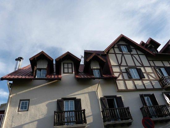 Hotel Rural Loizu: Fachada del hotel Loizu