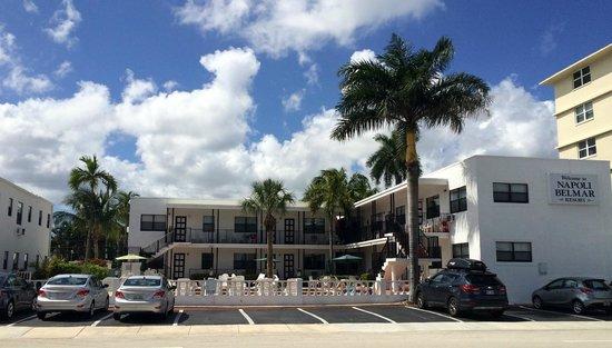 Napoli Belmar Resort : Motel