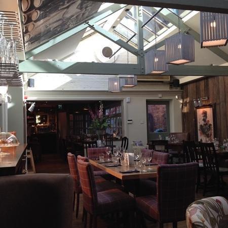 The Britannia: Britannia dining room