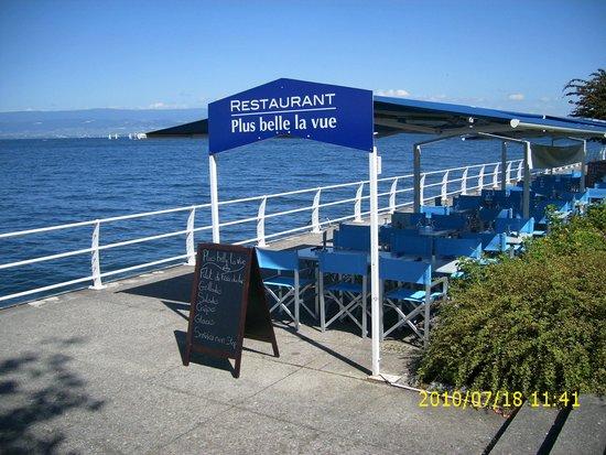 Plus Belle La Vue Thonon Les Bains Restaurant Avis