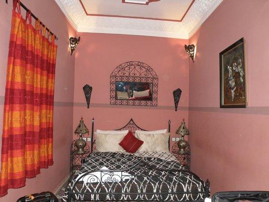 Riad L'Arabesque: habitacion zahara