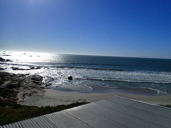 The Oystercatcher's Haven at Paternoster: Part of our view