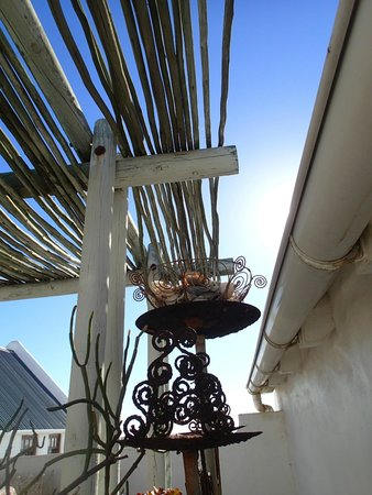 The Oystercatcher's Haven at Paternoster: Upstairs Patio