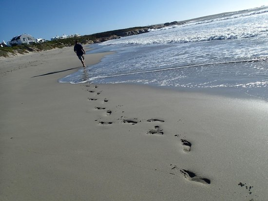 The Oystercatcher's Haven at Paternoster: The quite sheltered beach