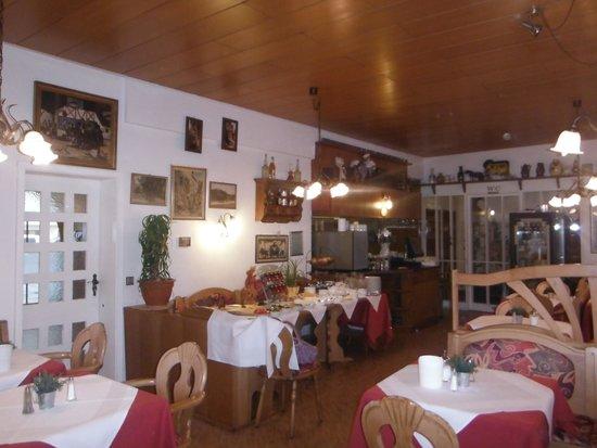 Alte Post: Restaurant Frühstücksraum